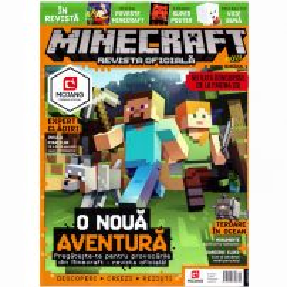 Minecraft revista oficiala Nr. 1