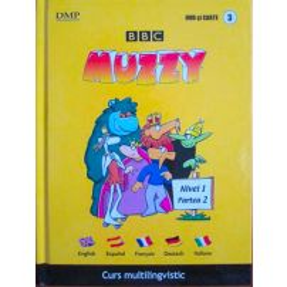 BBC Muzzy - Curs multilingvistic vol. 3 - Dvd si carte