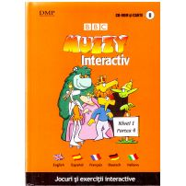 BBC Muzzy Interactiv - Jocuri si exercitii interactive vol.8 - CD si carte
