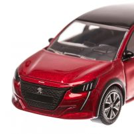 Peugeot 208 2019, scara 1:64, rosu, Norev