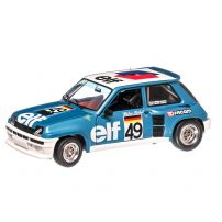Renault 5 Turbo European Cup 1981, macheta auto scara 1:18, albastru, window box, Solido