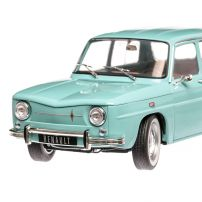 Renault 8 Major - Dacia 1100 1967, macheta auto, scara 1:18, Bleu, Solido