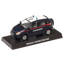 Renault  Scenic RX4 Carabinieri 2003, macheta auto, scara 1:43, albastru inchis, Magazine models