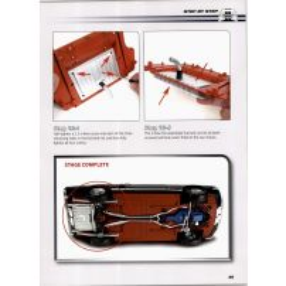 Macheta Ford Mustang Shelby GT-500 DeAgostini scara 1:8  nr.19
