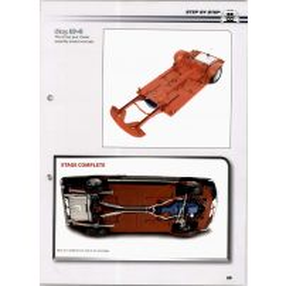 Macheta Ford Mustang Shelby GT-500 DeAgostini scara 1:8  nr.37