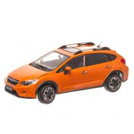 Subaru XV 2014, macheta auto scara 1:18, portocaliu, SunStar