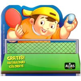 Lipeste si coloreaza - Sporturi - Tenis de masa
