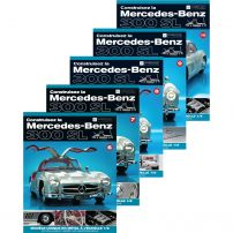 Abonament Macheta Mercedes-Benz 300SL Gullwing nr.1, 2, 3, 4, 5, 6, 7, 8, 9,10 - kit construibil - EAGLEMOSS COLLECTION