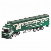 Volvo FH Face lift, macheta camion scara 1:50, verde, window box, Corgi