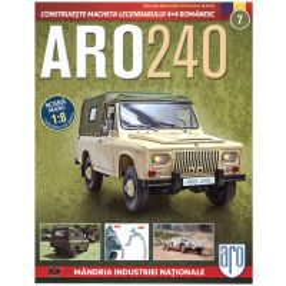 Macheta ARO 240 kit construibil Eaglemoss nr. 7