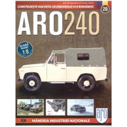 Macheta ARO 240 kit construibil Eaglemoss nr. 20