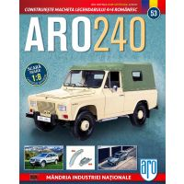 Macheta ARO 240 kit construibil Eaglemoss nr. 53 - coperta