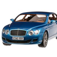 Bentley Continental Flying Star by Touring 2010, macheta auto, scara 1:18, albastru metalizat, Bos-Models