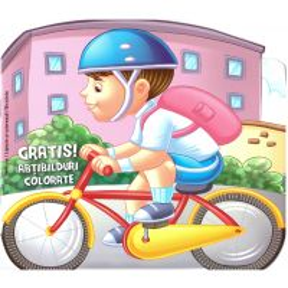 Lipeste si coloreaza - Vehicule - Bicicleta