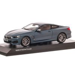BMW Seria 8 COUPE 2019, macheta autoturism, scara 1:18, albastru, Dealer BMW