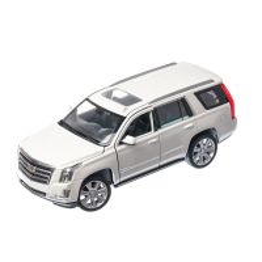 Cadillac Escalade 2017, macheta auto SUV scara 1:24, alb, Window box, Welly