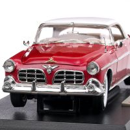 Chrysler Imperial 1955, macheta auto, scara 1:18, rosu, Signature Models