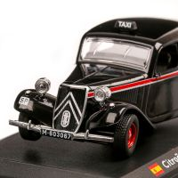 Citroen Traction Avant Madrid Taxi 1955, macheta Taxi scara 1:43, negru, Atlas