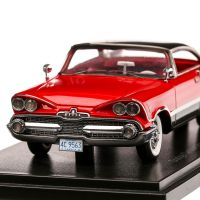 Dodge Customs Royal Lancer Coupe 1959, macheta auto, scara 1:43, rosu cu negru, Neo