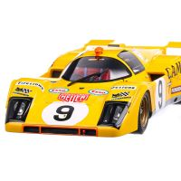 Ferrari 512M 1971 #9 Defierlant/Decadenet 24H Le Mans macheta auto scara 1:18, galben, CMR