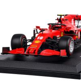 Ferrari SCUDERIA SF1000 #16 C. LeClerc Season car 2020, scara 1:18, rosu cu negru, Burago