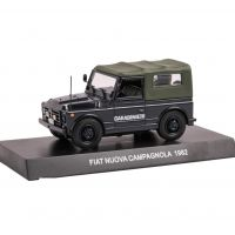 Fiat Nuova Campagnola Carabinieri 1982, macheta suv, scara 1:43, albastru inchis, Magazine Models