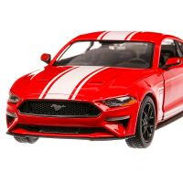Ford Mustang GT 2018, macheta  auto, scara 1:24, rosu, Motormax