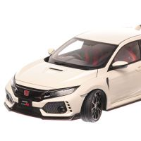 Honda Civic Type R FK8 2017, macheta auto scara 1:18, alb, window box, AUTOart