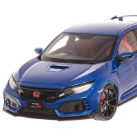 Honda Civic Type R FK8 2017, macheta auto scara 1:18, albastru, window box, AUTOart