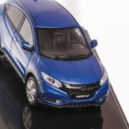 Honda HR-V Hybrid 2014, macheta auto, scara 1:43, albastru, window box, IXO