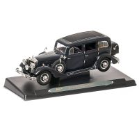 Horch 851 Pullman 1935, macheta auto scara 1:18, negru, window box, Ricko