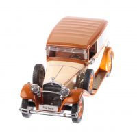 Mercedes Typ Nurburg 460/460K 1928, macheta auto scara 1:18, crem cu maro, window box, MCG