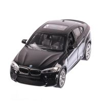 BMW X6 M 2018, macheta auto scara 1:24, negru, window box, Rastar