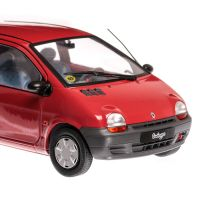 Renault Twingo Mk1 1993 macheta auto scara 1:18, rosu, window box, Solido