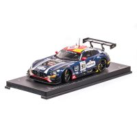 Mercedes-Benz AMG GT3, AKKA ASP Team - 24h Spa, macheta auto scara 1:18, albastru inchis, window box, Paragon