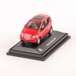 Mercedes-Benz A140, macheta auto scara 1:72, rosu Cararama