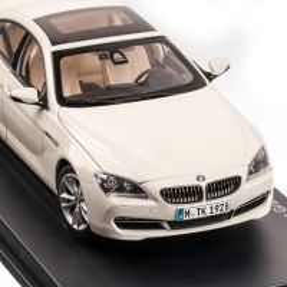 BMW 650i GT F06 2012, macheta auto scara 1:18, alb, Paragon