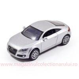 Audi TT 2007, macheta auto, scara 1:43, argintiu, New Ray
