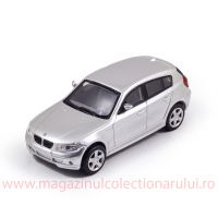 BMW 1 Series E87 2007, macheta auto, scara 1:43, argintiu, New Ray