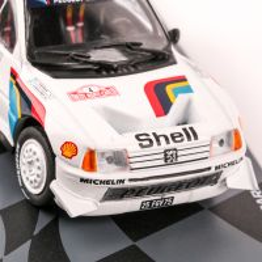 Colectia Raliul Monte Carlo Nr. 7 - Peugeot 205 Turbo16 E2 Rallye 1986 Eaglemoss