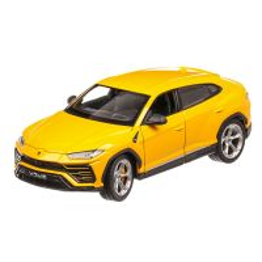 Lamborghini Urus 2018, macheta SUV  scara 1:24, galben, Welly