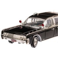 Lincoln Continental X-100 1961, scara 1:24 negru, Lucky Die Cast