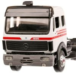 Mercedes 1835 1990, macheta  camion, scara 1:43, alb, Eligor