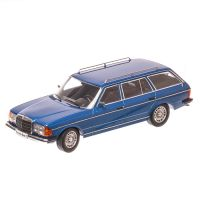 Mercedes-Benz 250T W123 Estate 1980, macheta auto scara 1:18, albastru, KK Scale