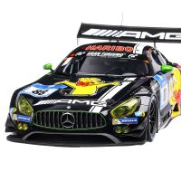 Mercedes-Benz AMG GT3 #88 3rd 24h Nürburgring 2016 Haribo Racing Team, scara 1:12, negru, Premium Classixxs