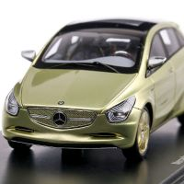 Mercedes-Benz Blue Zero Concept 2010, macheta auto, scara 1:43, crem, Spark