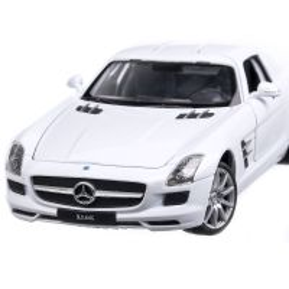 Mercedes-Benz SLS AMG (C197) 2010, macheta auto, scara 1:24, alb, Welly