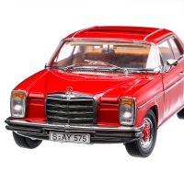 Mercedes Benz Strich 8 Coupé 1973, macheta auto, scara 1:18, rosu, Sun Star