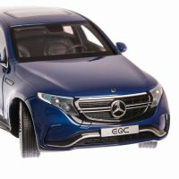 Mercedes-Benz EQC N293 2020, macheta auto scara 1:18, albastru, Spark