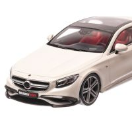 Mercedes-Benz  S65 Coupe Brabus 900 2019, macheta auto scara 1:18, alb, GT-Spirit